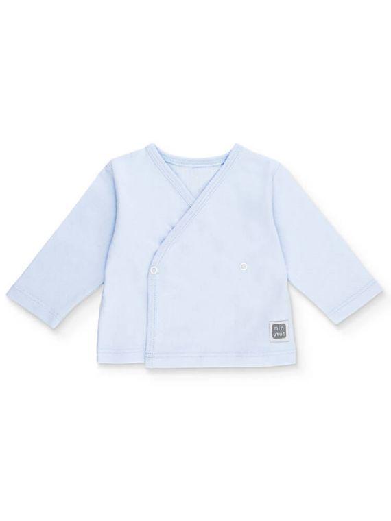 Camiseta-plain-Celeste