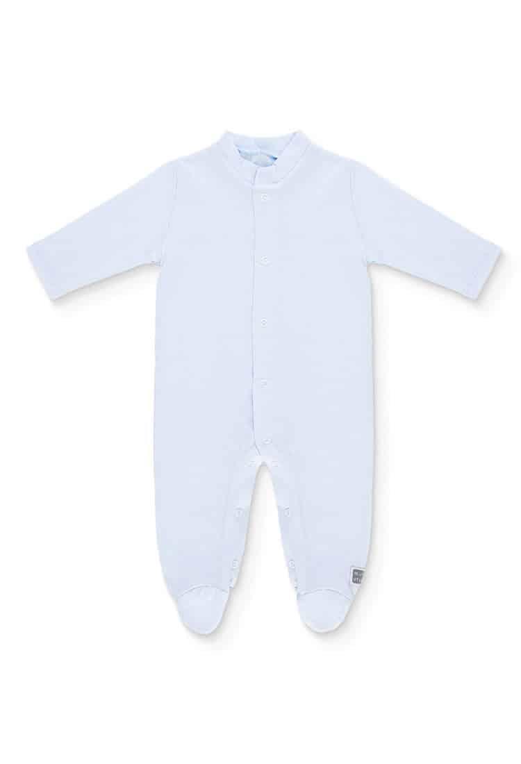 Pijama-largo-plain-Celeste