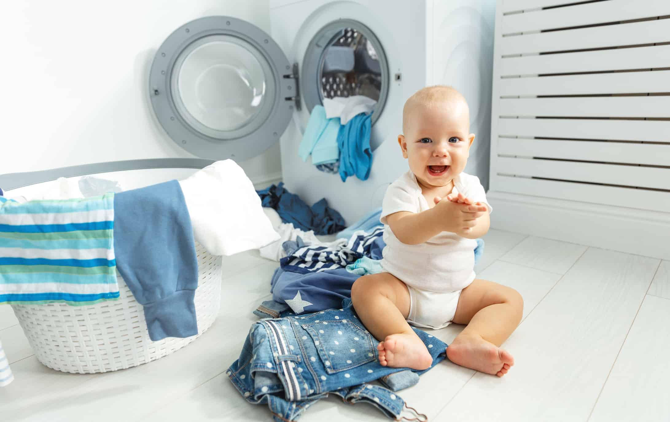 Frecuencia con la que se debe lavar la ropa de bebé 4