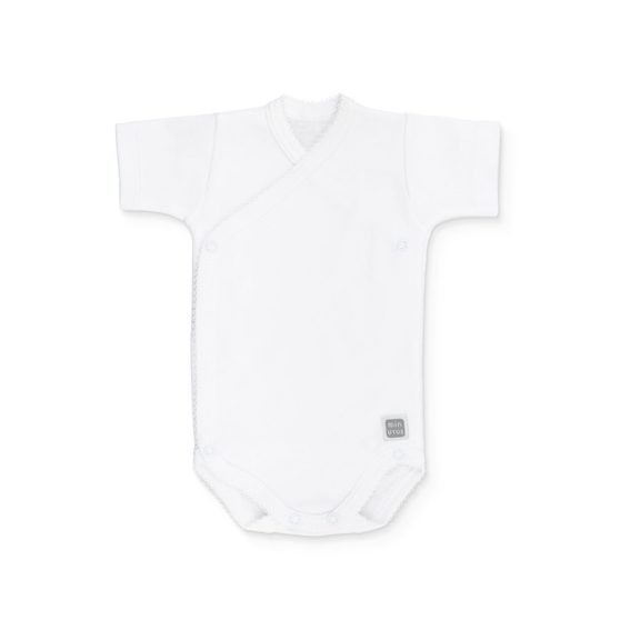 body plain algodón manga corta