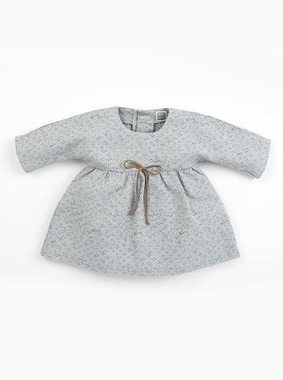 vestidos bebe nina meri azul