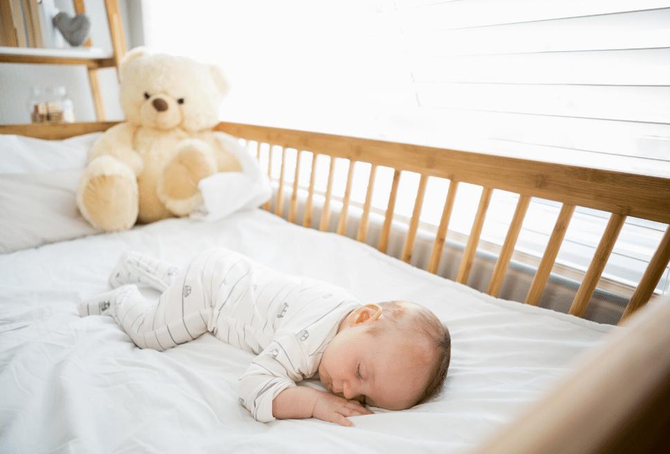 cuna para un bebe recien nacido