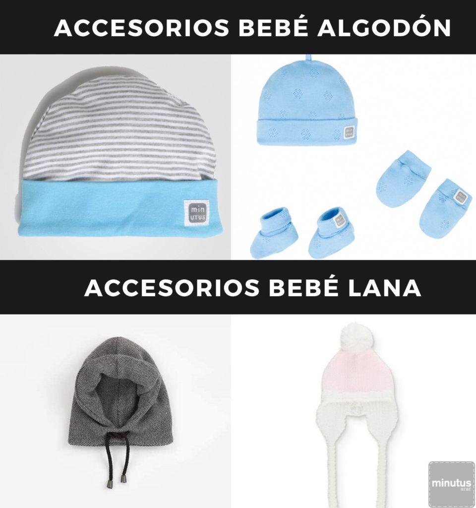 accesorios bebe algodon-lana
