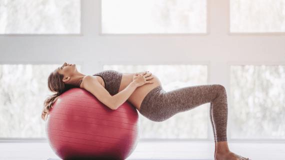 Los ejercicios que puede hacer una embarazada