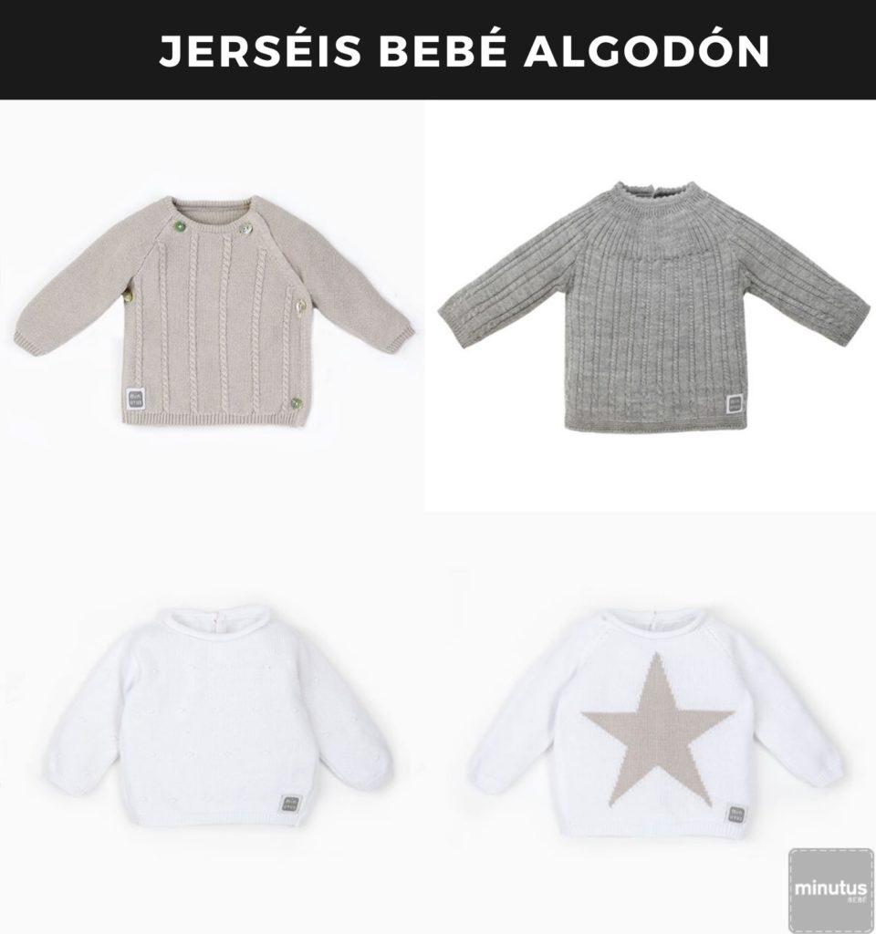 jerséis bebé algodón - ropa bebé clásica