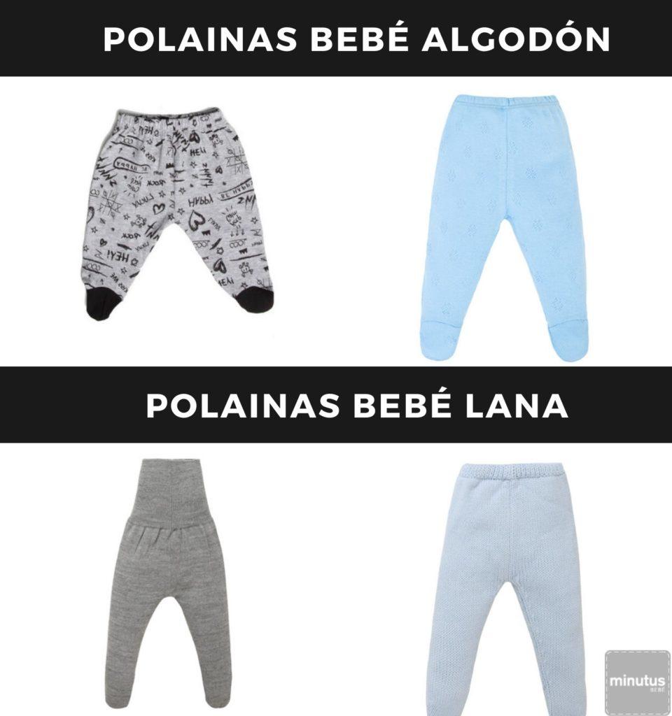 polainas bebe lana-algodon
