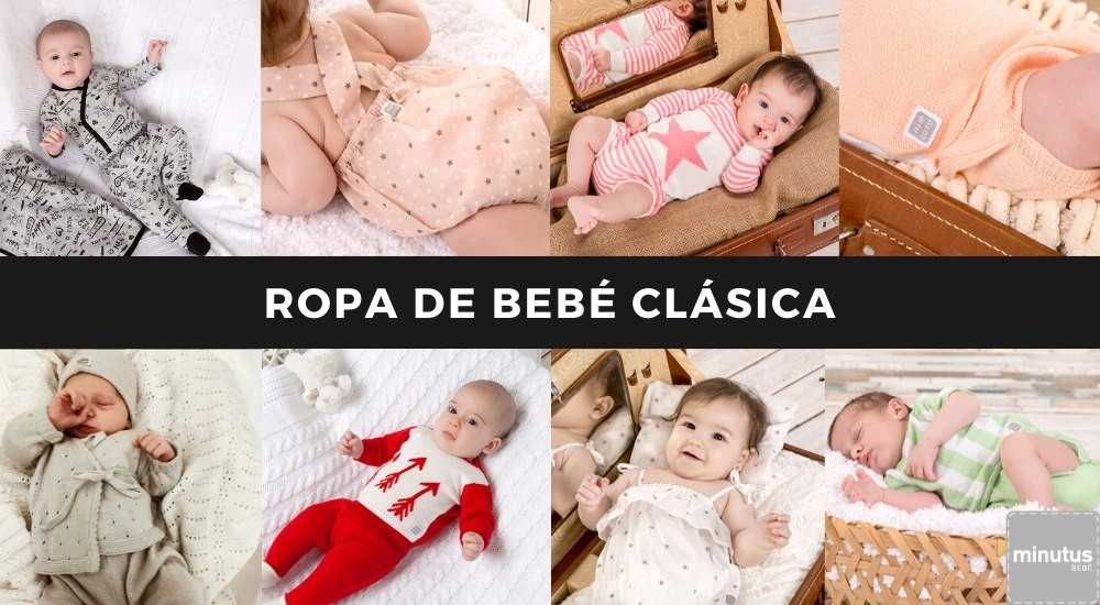 ropa bebé clásica