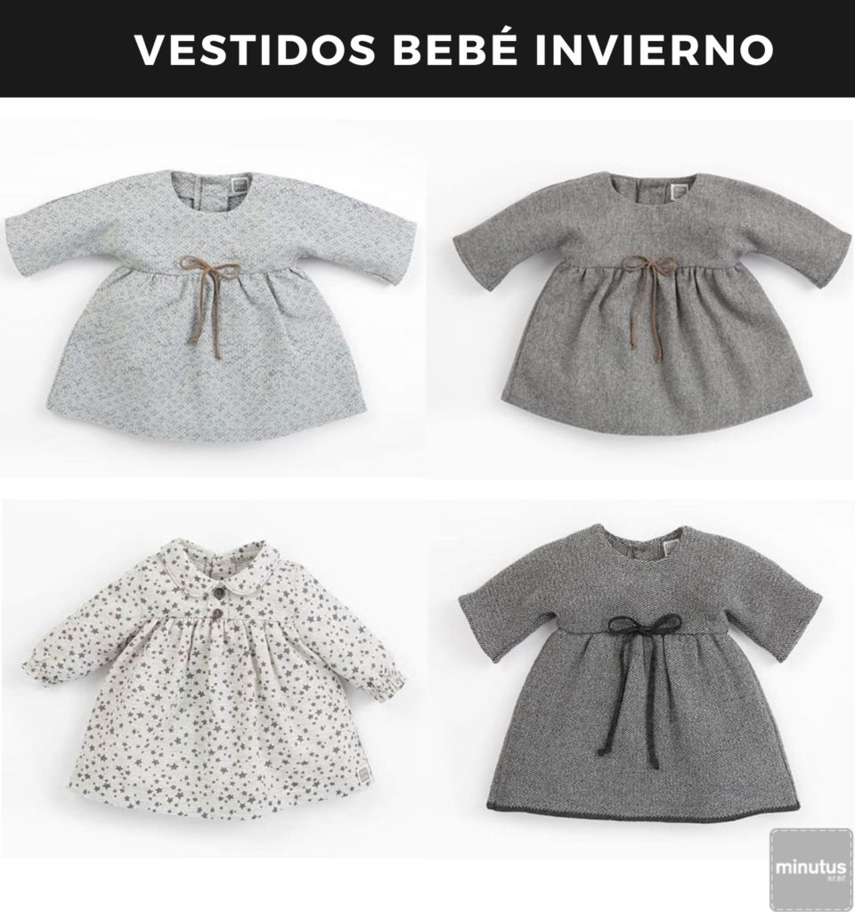 vestidos bebé invierno