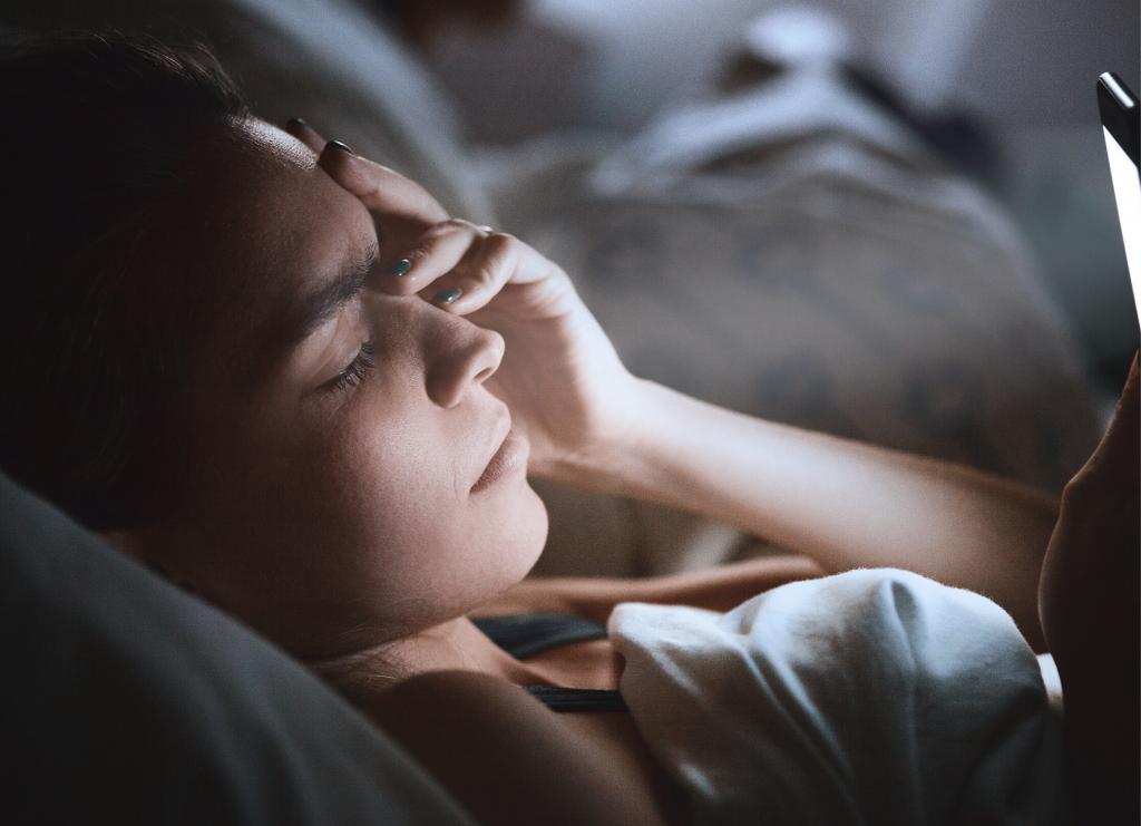 insomnio embarazo pantallas