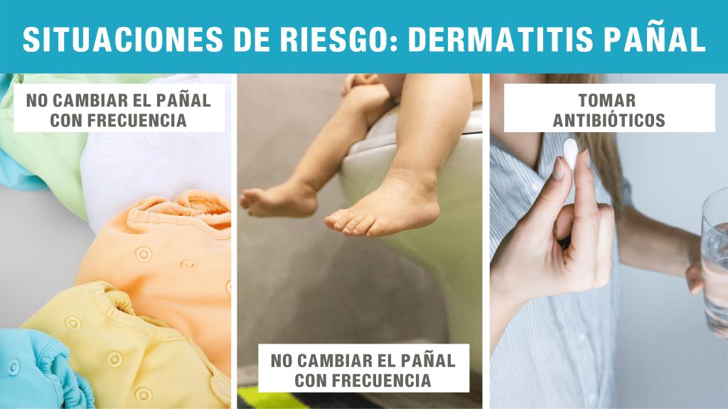 situaciones de riesgo dermatitis pañal