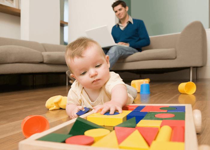 teletrabajar con un bebe