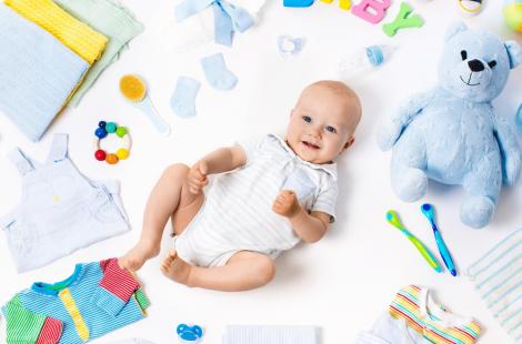 Accesorios para bebés recién nacidos son esenciales