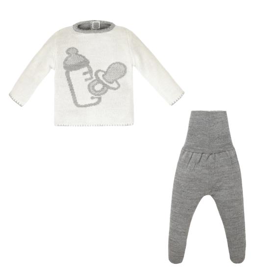 Conjunto de lana para bebé en Minutus
