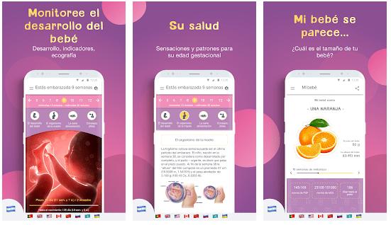 app embarazo del calendario semana a semana