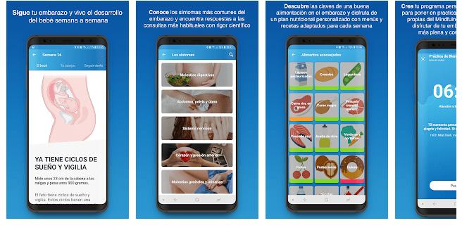 inatal apps para embarazdas