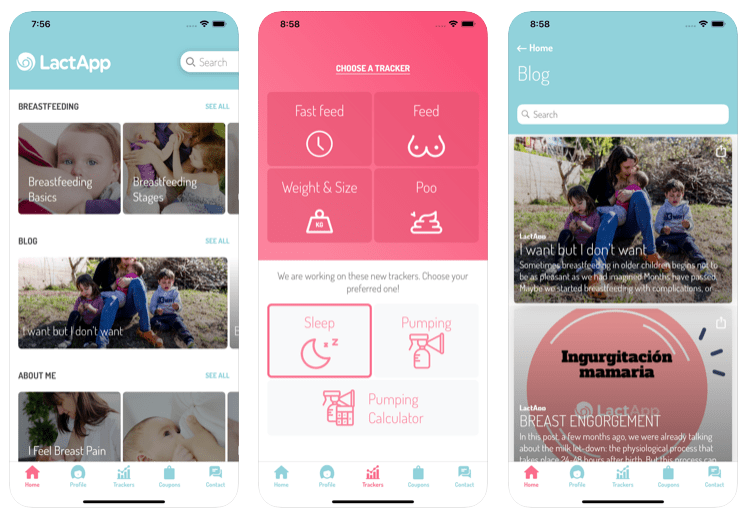 lactapp app para lactancia materna