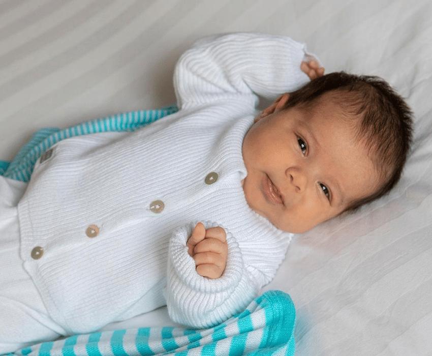 ropa de algodón 100% para recien nacido