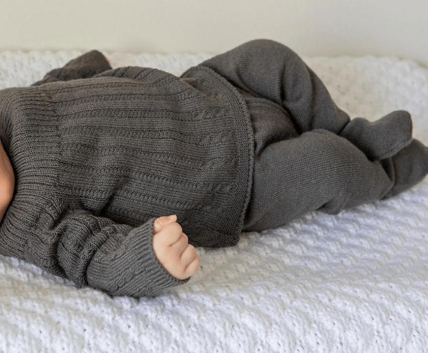 ropa para bebés de dralón 100%