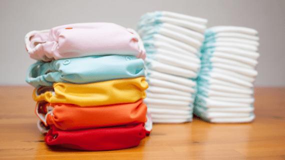 Beneficios y desventajas de los pañales de tela