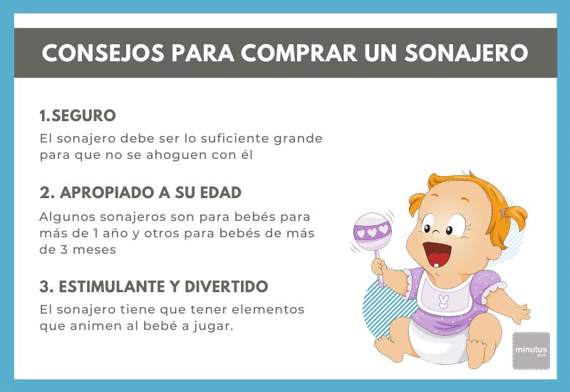 Razones para comprar un sonajero para bebé 2