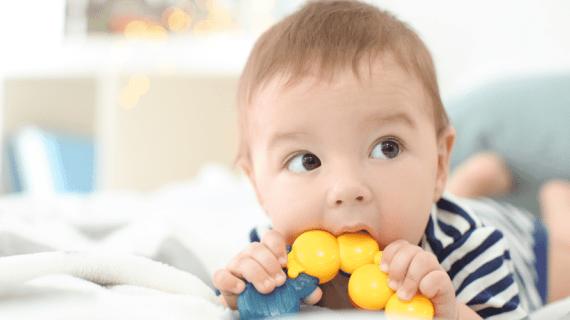 ¿Para que sirven los mordedores para bebé?