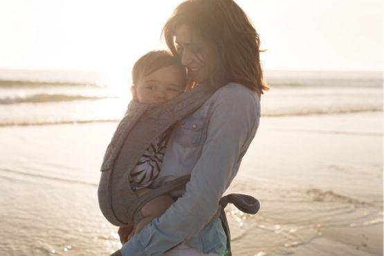 porteo bebe recien nacido beneficios