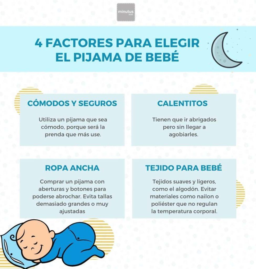 factores para elegir pijama minutus