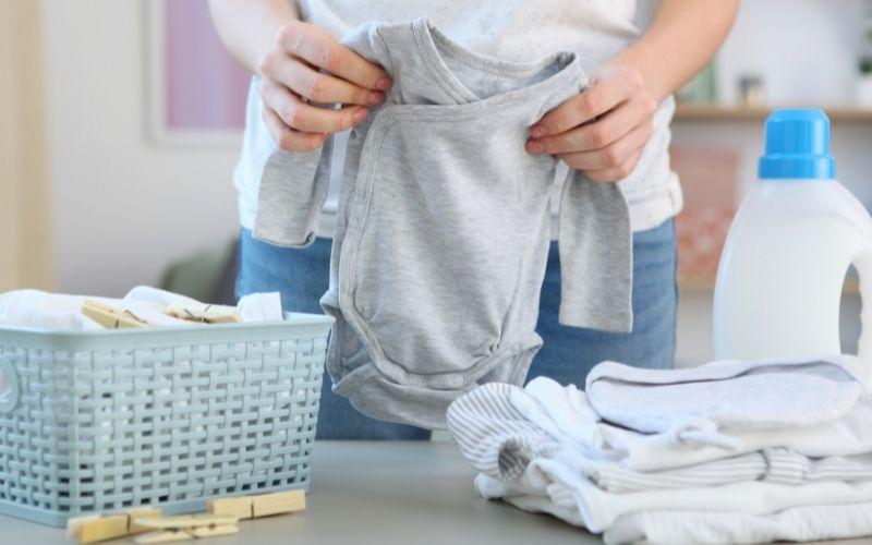Consejos para lavar ropa de un recién nacido