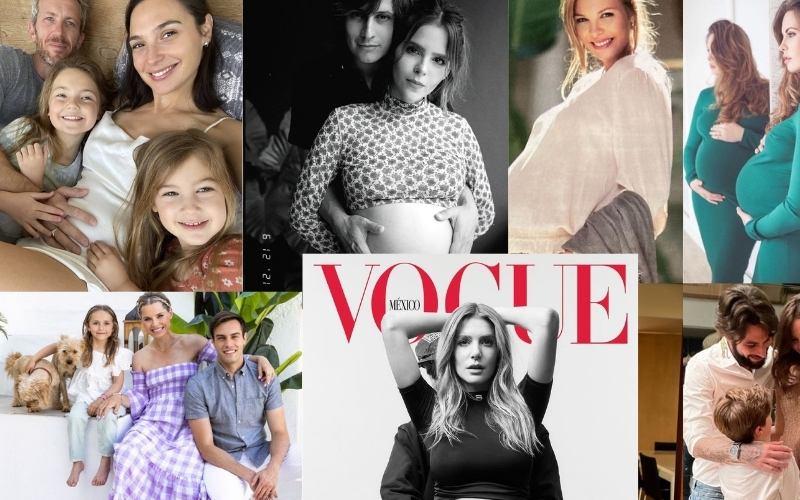 Las 7 influencers embarazadas de 2021