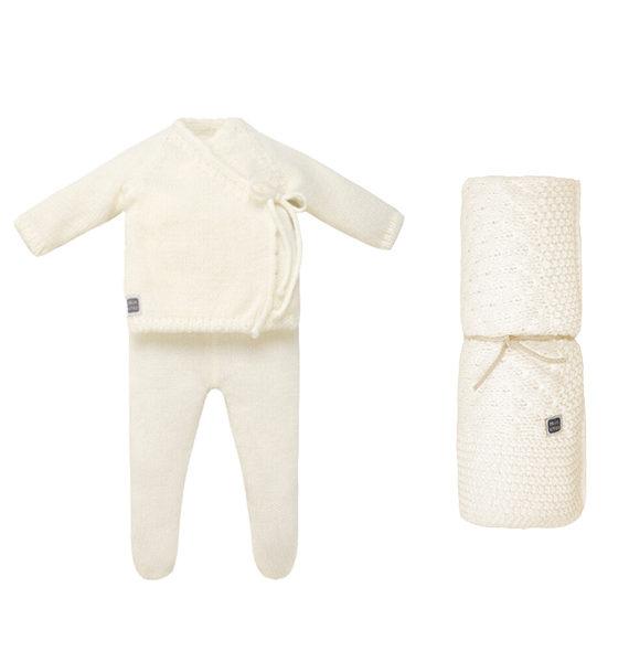 Conjunto para bebé Duque con manta