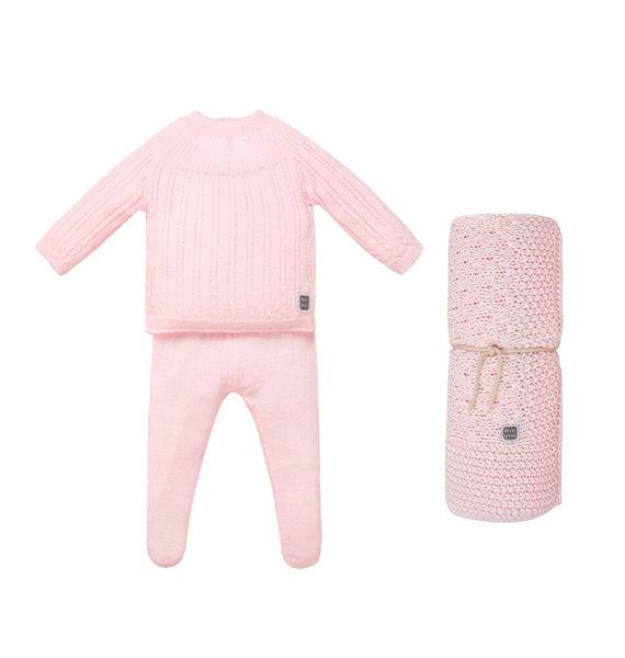 Conjunto ropa bebé pack con manta Ibiza